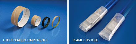 Loudspeaker Components and Plamec HS Tube